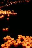 κόκκινα ύδατα των vagrant κεριών Στοκ Εικόνα