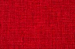 Κόκκινα canavas Στοκ εικόνες με δικαίωμα ελεύθερης χρήσης