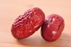 Κόκκινα jujube-ξηρά φρούτα Στοκ φωτογραφία με δικαίωμα ελεύθερης χρήσης