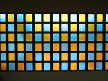 κόκκινα Windows κίτρινα Στοκ φωτογραφία με δικαίωμα ελεύθερης χρήσης