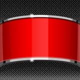 Κόκκινες και γκρίζες καλύψεις προτύπων σχεδίου Στοκ εικόνα με δικαίωμα ελεύθερης χρήσης