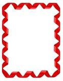 κόκκινες κορδέλλες πλ&alph Στοκ φωτογραφία με δικαίωμα ελεύθερης χρήσης