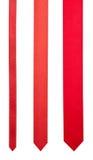 κόκκινες κορδέλλες Στοκ εικόνες με δικαίωμα ελεύθερης χρήσης