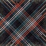 Κόκκινες μαύρες μπλε και γκρίζες γραμμές σε μια σκοτεινή επίδραση απεικόνισης υποβάθρου διανυσματική grunge Στοκ φωτογραφίες με δικαίωμα ελεύθερης χρήσης
