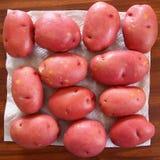 Κόκκινες πατάτες Στοκ εικόνα με δικαίωμα ελεύθερης χρήσης