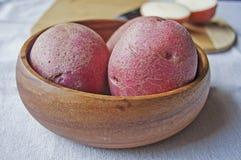 Κόκκινες πατάτες Στοκ Φωτογραφίες
