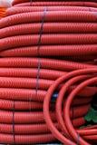 Κόκκινες σπείρες μανικών Στοκ εικόνα με δικαίωμα ελεύθερης χρήσης