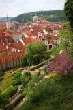 κόκκινες στέγες κάστρων &kapp Στοκ εικόνες με δικαίωμα ελεύθερης χρήσης