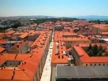 κόκκινες στέγες Στοκ φωτογραφία με δικαίωμα ελεύθερης χρήσης