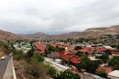 Κόκκινες στέγες Santa Rosalia Στοκ Φωτογραφία
