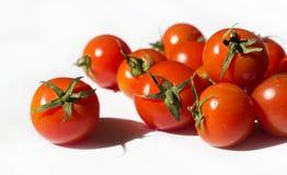 κόκκινες ώριμες ντομάτες Στοκ φωτογραφίες με δικαίωμα ελεύθερης χρήσης