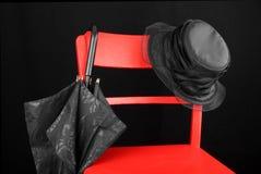 Κόκκινη έδρα Στοκ φωτογραφία με δικαίωμα ελεύθερης χρήσης
