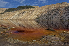 Κόκκινη λίμνη 04 Στοκ Φωτογραφίες