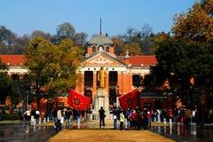 Κόκκινη αίθουσα Wuchang Στοκ φωτογραφία με δικαίωμα ελεύθερης χρήσης