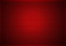 Κόκκινη ανασκόπηση άνθρακα Στοκ Εικόνες