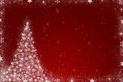 Κόκκινη ανασκόπηση Χριστουγέννων Στοκ φωτογραφία με δικαίωμα ελεύθερης χρήσης