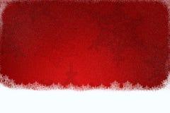 Κόκκινη ανασκόπηση Χριστουγέννων Στοκ εικόνα με δικαίωμα ελεύθερης χρήσης