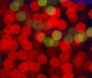 Κόκκινη ανασκόπηση bokeh Στοκ εικόνες με δικαίωμα ελεύθερης χρήσης