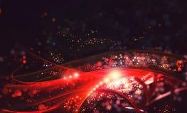 Κόκκινη ανασκόπηση bokeh Στοκ φωτογραφία με δικαίωμα ελεύθερης χρήσης
