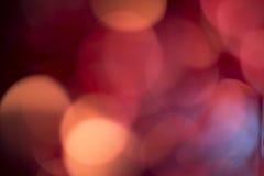 Κόκκινη ανασκόπηση bokeh Στοκ φωτογραφίες με δικαίωμα ελεύθερης χρήσης