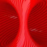 Κόκκινη αφηρημένη σήραγγα απεικόνιση αποθεμάτων