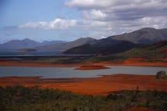 Κόκκινη γη Στοκ Φωτογραφία