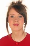 κόκκινη γυναίκα στοκ εικόνα με δικαίωμα ελεύθερης χρήσης