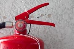 Κόκκινη δεξαμενή της πυρκαγιάς Στοκ φωτογραφία με δικαίωμα ελεύθερης χρήσης