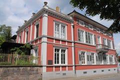 κόκκινη δύση palais Στοκ Φωτογραφίες