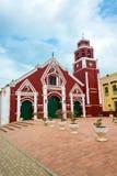 Κόκκινη εκκλησία του Σαν Φρανσίσκο Στοκ Εικόνες
