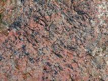 κόκκινη επιφάνεια πετρών Στοκ Εικόνα
