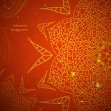 Κόκκινη ινδική εκλεκτής ποιότητας διακόσμηση Διανυσματική απεικόνιση για την επιχειρησιακή παρουσίασή σας Στοκ φωτογραφία με δικαίωμα ελεύθερης χρήσης