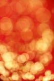 Κόκκινη και χρυσή θαμπάδα Στοκ εικόνα με δικαίωμα ελεύθερης χρήσης
