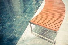 Κόκκινη καρέκλα με καμία Στοκ Φωτογραφία