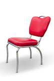 Κόκκινη καρέκλα Στοκ φωτογραφίες με δικαίωμα ελεύθερης χρήσης