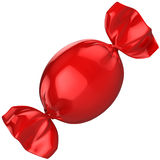 Κόκκινη καραμέλα Στοκ φωτογραφία με δικαίωμα ελεύθερης χρήσης