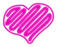 Κόκκινη καρδιά της αγάπης Στοκ φωτογραφία με δικαίωμα ελεύθερης χρήσης