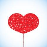 Κόκκινη καρδιά. Στοκ εικόνα με δικαίωμα ελεύθερης χρήσης