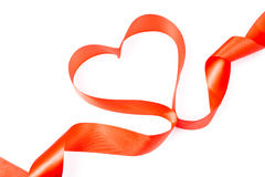 Κόκκινη καρδιά Στοκ εικόνα με δικαίωμα ελεύθερης χρήσης