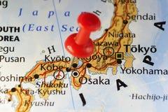 Κόκκινη καρφίτσα στο Kobe, Ιαπωνία Στοκ εικόνες με δικαίωμα ελεύθερης χρήσης