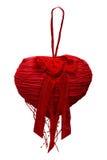 Κόκκινη καρδιά ανασκόπησης η μπλε κιβωτίων καρδιά δώρων ημέρας έννοιας εννοιολογική απομόνωσε τους διαμορφωμένους ακόμα κόκκινο β Στοκ Εικόνα
