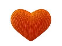 Κόκκινη καρδιά Στοκ Φωτογραφία