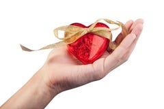 Κόκκινη καρδιά Στοκ Εικόνες