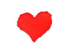 Κόκκινη καρδιά στοκ φωτογραφίες
