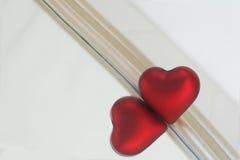 Κόκκινη καρδιά Στοκ φωτογραφία με δικαίωμα ελεύθερης χρήσης