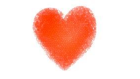 Κόκκινη καρδιά Απεικόνιση αποθεμάτων