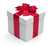 κόκκινη κορδέλλα δώρων κι Στοκ εικόνα με δικαίωμα ελεύθερης χρήσης