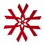 κόκκινη κορδέλλα προτύπων Στοκ Εικόνες