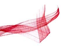 κόκκινη κορδέλλα Στοκ Εικόνες