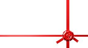 κόκκινη κορδέλλα ελεύθερη απεικόνιση δικαιώματος